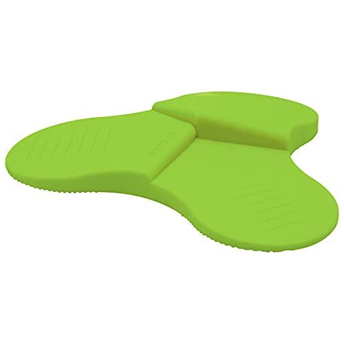 Preisvergleich Produktbild WAGNER Bodentürstopper 3STOP COLOR - Durchmesser Ø 108 x 19 mm,  Kunststoff Elastomer,  preisausgezeichnet,  grün - 3 unterschiedliche Keilhöhen,  diverse Anwendungen - 15698601
