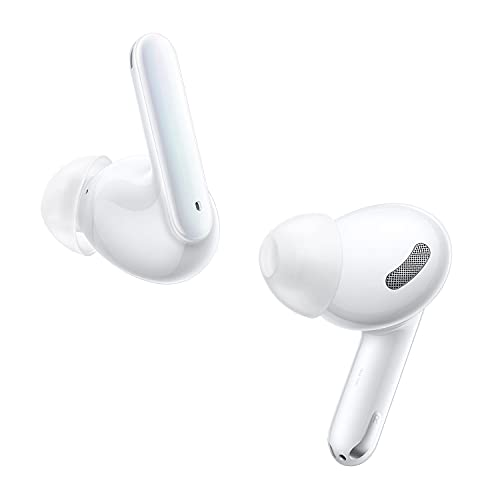 OPPO Enco X kabellose In-Ear Kopfhörer, Bluetooth 5.2, hybrid Geräuschunterdrückung, Android und iOS-kompatibel, kabelloses Laden. Inkl. Ladecase, weiß