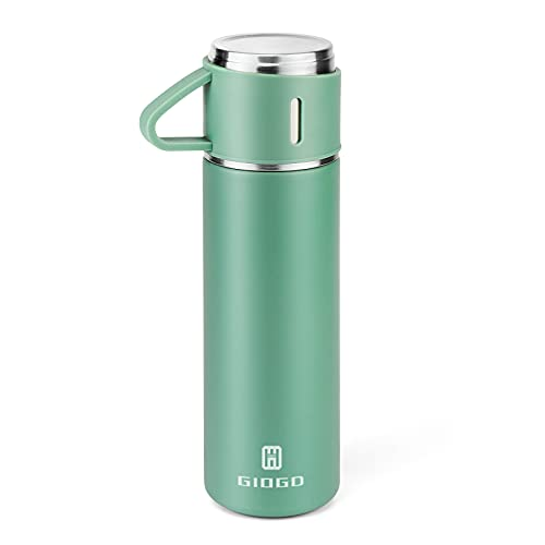 Stainless Steel Thermo 500ml/16.9oz Vacuum Insulated...