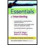 Essentials of Interviewing (02) by Wiger,...