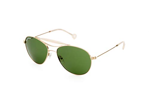 Hally & Son Deus DH501S02 - Gafas doradas, 56 17 140, unisex para adulto