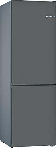 Bosch KVN39IGEA Serie 4 VarioStyle - Frigorífico independiente/A++ / 203 cm / 273 kWh/año/Puerta frontal intercambiable gris piedra / 279 L/parte congelador 87 L/NoFrost/VitaFresh