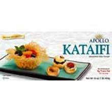 Athens Foods Apollo Kataifi Shredded Fillo Dough, 16 Ounce -- 12 per case.