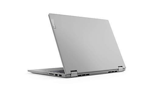 Lenovo IdeaPad C340 Laptop 35,6 cm (14 Zoll, 1920x1080, Full HD, WideView, Touch) Convertible Notebook (Intel Core i5-10210U, 8GB RAM, 512GB SSD, Intel UHD-Grafik, Windows 10 Home) silber
