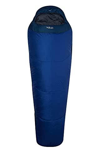RAB Quechua Solar 3 - Saco de dormir para hombre (cremallera izquierda)