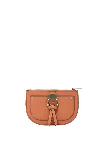 s.Oliver RED LABEL Damen Elegante Gürteltasche mit Metallring hazelnut brown 1
