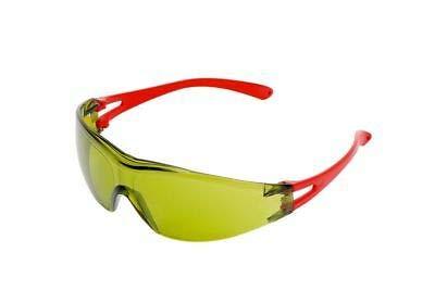 WÜRTH Cepheus® - Gafas protectoras ligeras, color amarillo