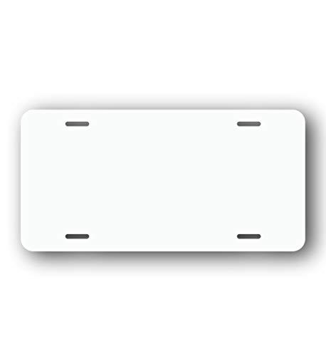 License Plate Blank (1, White)