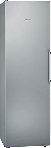 Siemens iQ300 KS36VVL4P Independiente 346L A+++ Plata, Acero inoxidable - Frigorífico (346 L, SN-T, 39 dB, A+++, Plata, Acero inoxidable)