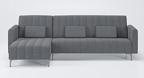 Skraut Home - Canapé d'angle Convertible en lit,...