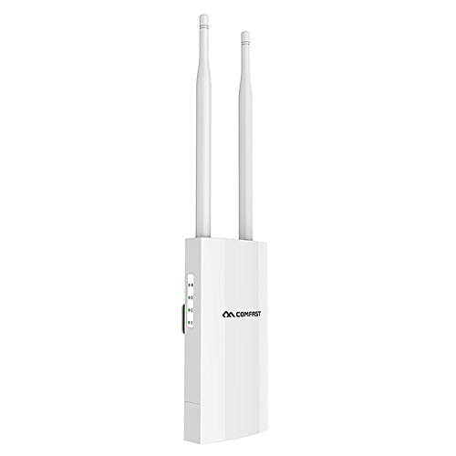 Comfortast Externe WLAN-router 1200Mbps Dual Band 5G router met hoge prestaties Outdoor AP Wireless Router WiFi IP66 waterdicht lang bereik voor privé- of commercieel gebruik