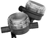 Jabsco Bomba de filtro de agua en línea Protector–Colador Malla Fina 0.5pulgadas.