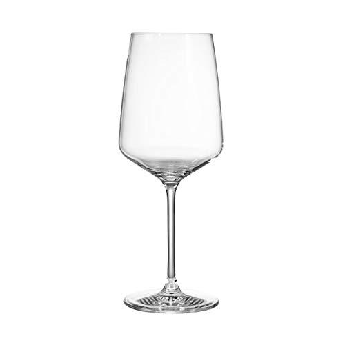 Butlers WINE & DINE Rotweinglas 650 ml | 6er-Set
