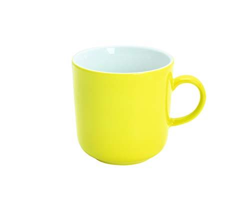 KAHLA Kaffeebecher PRONTO COLORE, 0,30 l zitronengelb (H.Nr. 475300A70412C)