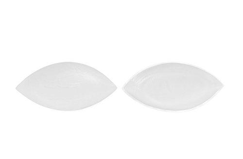 Sodacoda Damen Sichelförmige Push-Up Silikon BH Einlagen 140g/Paar - Transparent - Transparent