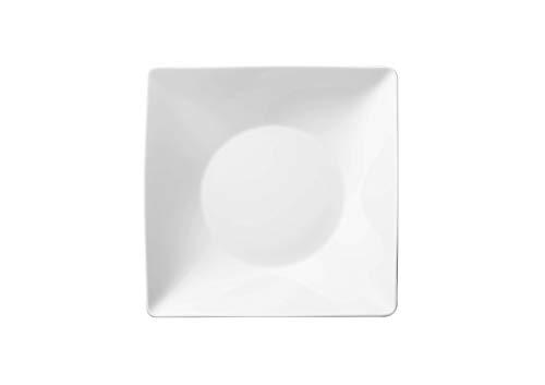 Thomas Rosenthal Sunny Day Teller - Suppenteller - quadratisch - tief - weiß 23 cm