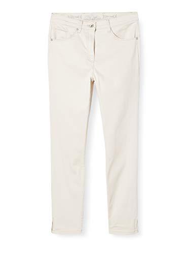 Raphaela by Brax Damen Style Lesley S Super Dynamic Light Denim Skinny Jeans, Cream, 44