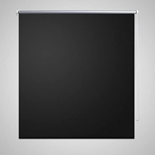 Estor Persiana Enrollable 160 x 175cm NegroCasa y jardín Decoración Tratamientos de la Ventana Persianas y estores