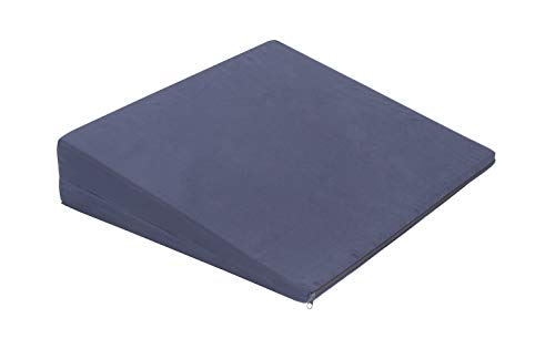 Essential Medical Supply Wedged Cushion to Keep You Back in a Chair, 4 Inch