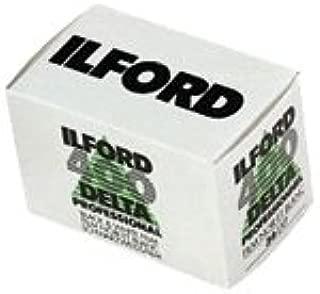Ilford 1748192 Delta Pro 400 Fast Fine Grain Black and White Film, ISO 400, 35mm, 36 Exposures