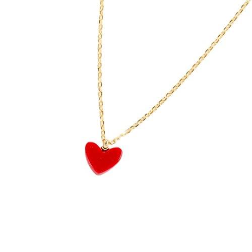 Yaowo 925 Plata Esterlina Amor Corazón Colgante Collar Piedra Natal Día De La Madre Joyería De Mujer Regalo