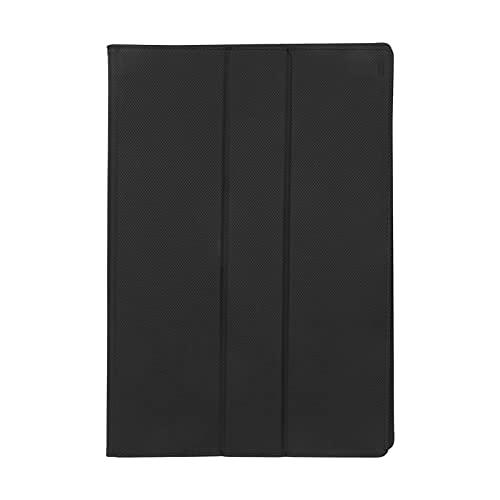 PU-Ledertasche, Anti-Kratz-Schutzhülle Einfach zu tragen Schwarz mit rutschfesten Rillen für LCD-Monitore