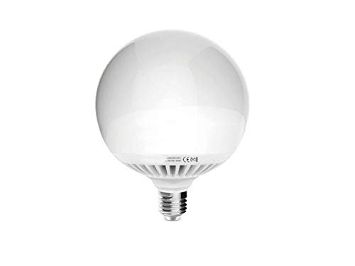 Imperia Lampada Globo LED 24W = 200W 2400 Lumen Luce Naturale 4000K [Classe di efficienza energetica A+], Bianco