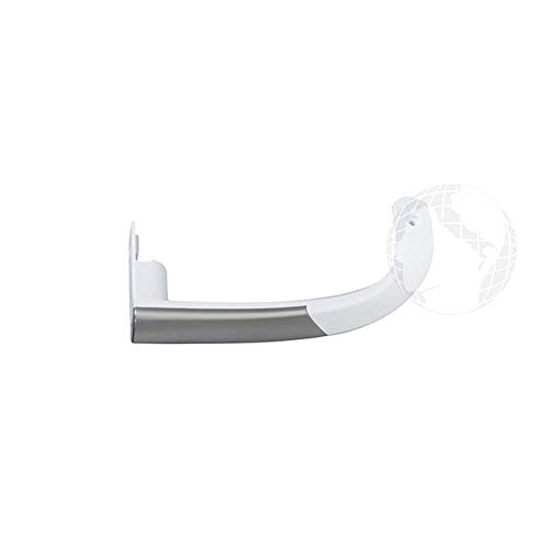 Maniglia superiore per frigorifero (ORIGINALE Beko) colore bianco e grigio, codice ricambio: 4326391000
