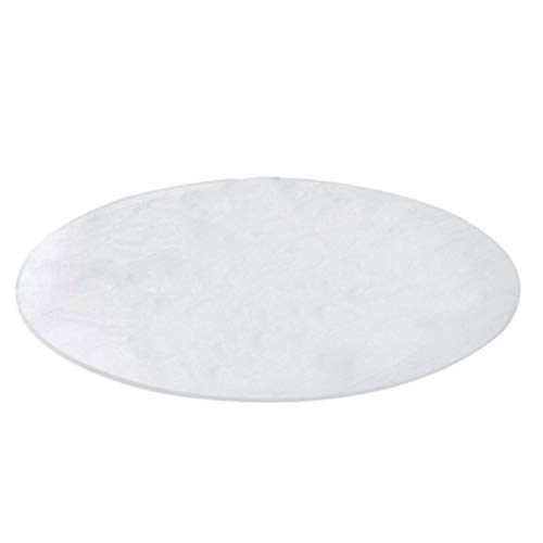 NINGWXQ Ronde PVC Table Matte Protector, Doorzichtige Plastic Tafelkleed Cover Tafelblad Pad for Kitchen Room Coffee Desk-a, 3 Diktes (Color : 2.0mm, Size : Diameter-140CM)