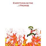 Everything is Fine...I Promise Notepad - 50...