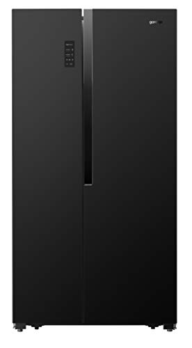 Gorenje NRS 9182 MB Side by Side / 178,6 cm/ 343kWh/ 339 L Kühlteil/ 177 L Gefrierteil/Inverter Kompressor/SuperCool/NoFrost/FastFreeze/Eiswürfelbereiter/A++, Schwarz