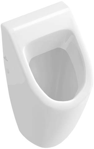 Villeroy & Boch Subway 751305 - Urinario (285 x 535 x 315 mm, con Objetivo de Color Blanco Piedra)