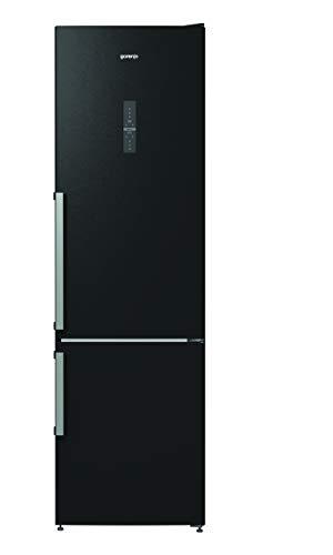 Gorenje NRK 6203 TBK Kühl-Gefrier-Kombination A+++ / 206 cm / 172 kWh/Jahr / 254 L Kühlteil / 80 Gefrierteil / NoFrost Plus / IonAir und Multiflow 360 Grad / schwarz