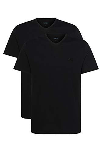 BOSS Herren T-Shirt VN 2P CO Zweier-Pack T-Shirts aus Baumwolle mit V-Ausschnitt