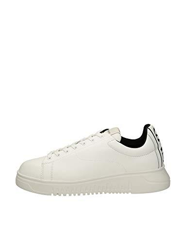 Emporio Armani Zapatillas para hombre. Blanco Size: 41 EU