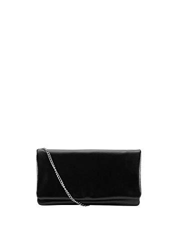 s.Oliver (Bags Damen Clutch, Schwarz (Black), 2x15x26 cm