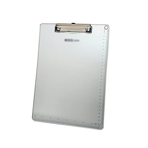 Porta-Pad Lavagna Clip di cartelle di Metallo Bancarella addensata Appunti per Clip per Appunti con Foro Appeso Multifunzionale Pad Pad (10 Confezioni) Portablocco (Color : A, Size : A5)