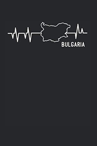 Bulgaria Geschenkidee Notizen: Notizbuch A5 120 Seiten liniert