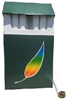 American Billy - Menthol Green Tea Herbal Cigarettes (Sold by The Carton) -Non Tobacco, Non Nicotine Cigarette Alternatives