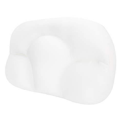 Tomanbery Oreiller de Soutien du Cou Oreiller de Sommeil Doux pour la Peau pour Toutes Les Postures de Sommeil pour Femmes et Hommes pour Dormir pour soulager la Fatigue(White)