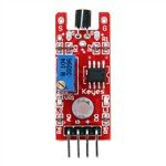 KY-036 Human Body Touch Sensor Module for Arduino (Works with Official Arduino Boards) - Red