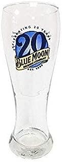 Blue Moon 20th Anniversary Glass