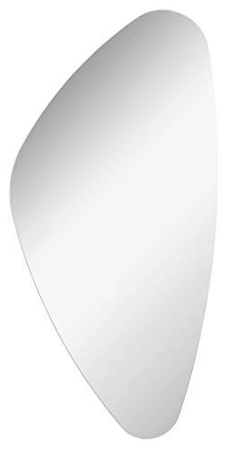 FACKELMANN Spiegel Organic Mirrors/Wandspiegel mit Befestigung/Maße (B x H x T): ca. 41 x 76 x 2 cm/hochwertiger Badspiegel/moderner Badezimmerspiegel/Breite 40 cm