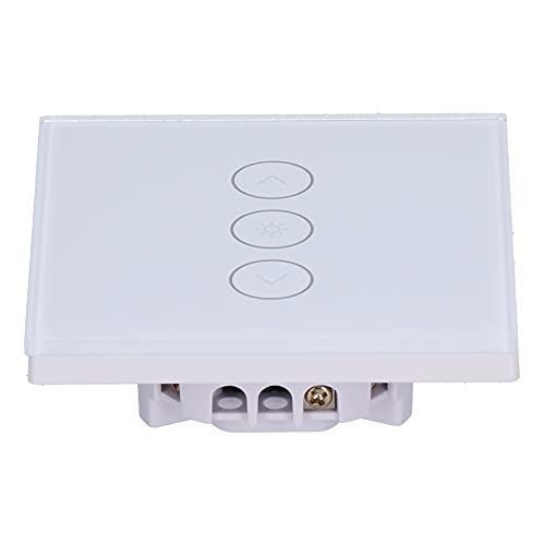 Interruptor táctil de Pared, práctico Control Remoto Práctico Interruptor de luz LED para lámparas LED de atenuación Continua Lámparas incandescentes