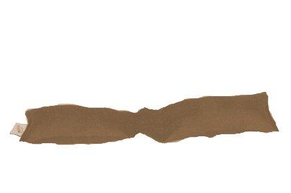 Speltex, Tastaturkissen, Natur, Füllung Bio-Hirseschalen (latexiert); Bezug Natur-Leinen, 8x33 cm