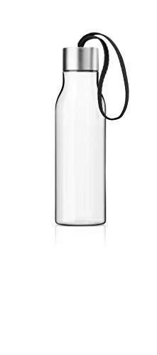 EVA SOLO 503022 Trinkflasche, Mit Trageschlaufe, 0,5 L, Kunststoff, Schwarz, 28 x 10 x 10 cm