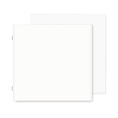 White 12x12 Pages with Protectors by Creative Memories