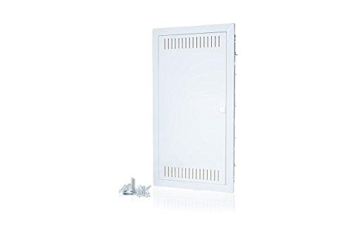 f-tronic 7250027 Kommunikationsverteiler Jumbo K, HW/UP, Montageplatte, 3-reihig, JUMBO36K
