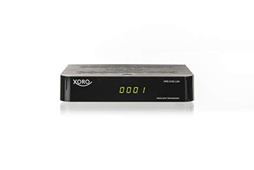 Xoro HRS 9192 TWIN Receiver (DVB-S2, HDTV PVR Ready, USB 2.0, FTA, LAN) black, SAT100598