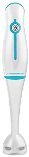 Esperanza EKM001B Staafmixer Frappè 250W, PC, wit, blauw